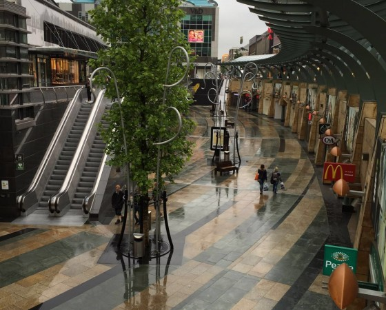 A piece of Rotterdam shopping centre much safer