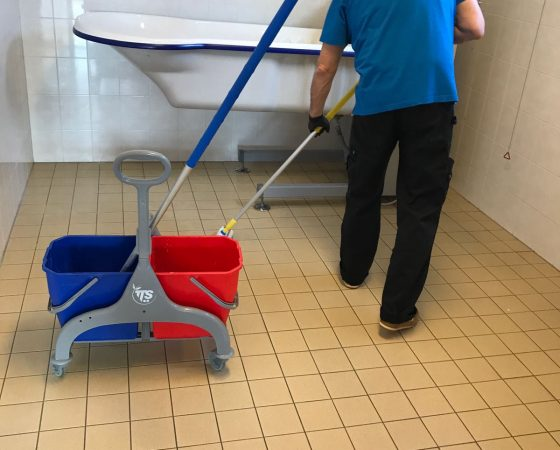 Healthcare facility Zuster Norma in Dordrecht (The Netherlands) chooses MaxxGrib for their safe non slippery floors.